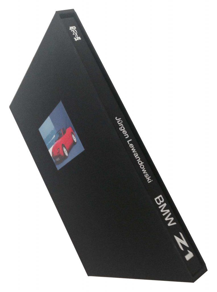 Z1-Buch lim., schwarzer Schuber, Titelfoto